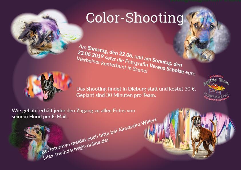Color-Shooting @ Dieburg