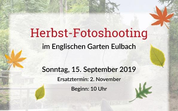 Herbst-Fotoshooting im Englischen Garten Eulbach @ Englischer Garten Eulbach