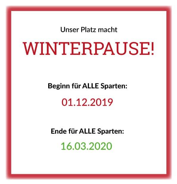 Winterpause @ ATFD-Gelände