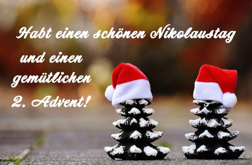Habt einen schönen Nikolaustag und einen gemütlichen 2. Advent!